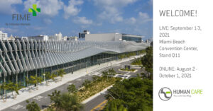 Meet us at FIME – Miami Beach Sept. 2021